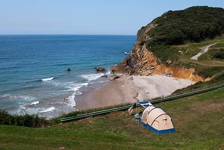 Playa Las Arenas en Pechón