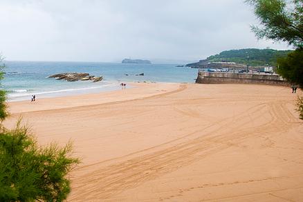 Playa La Concha en Santander