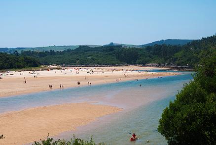Playas Nudistas Cantabria Mapa.Playa De La Arena Los Nudistas Playas De Cantabria