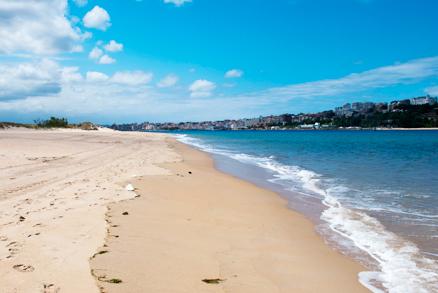 Playa El Puntal en Somo