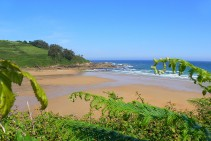 Playa Luaña-Cobreces