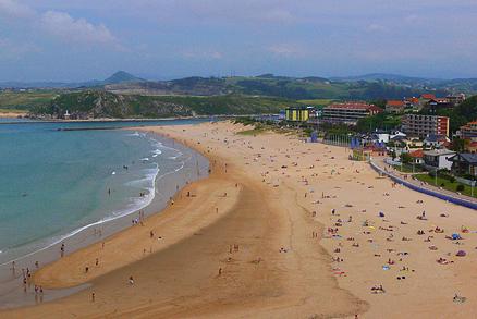 Playa La Concha en Suances