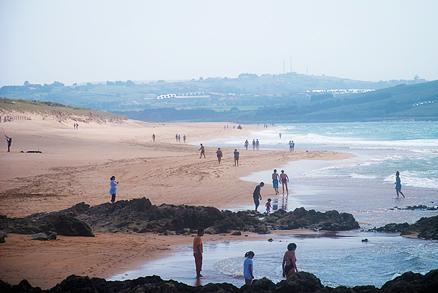 Playa Valdearenas en Liencres