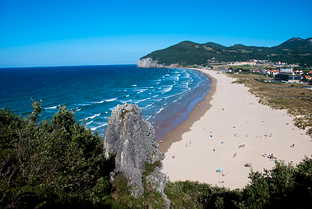 Playa de Berria en Dueso