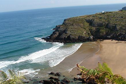 Playa El Berrón en Ontón