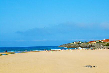 Playa Cuberris en Ajo