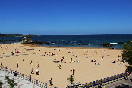 Playa El Camello en Santander