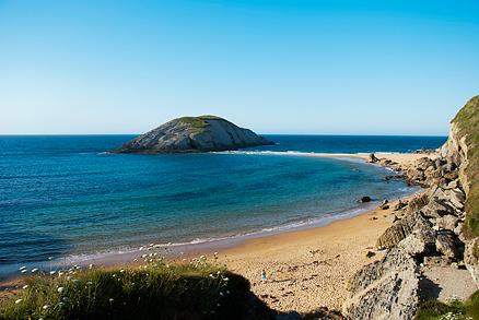 Playa Covachos en Soto de la Marina