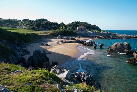 Playa de Arnadal o Los Franceses en Isla