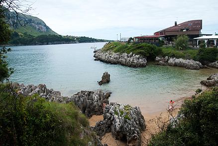 Playa Arenillas en Islares