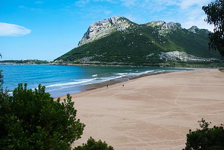 Playa Oriñón en Oriñón