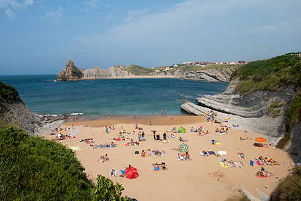 Playa de Cerrias en Liencres