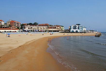 Playa La Ribera en Suances