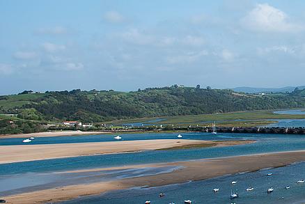 Playa La Maza en San Vicente de la Barquera