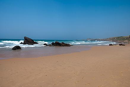 Playa Canallave en Liencres