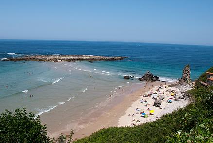 Playa de Amió en Pechón