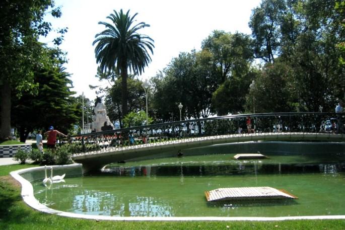 Paseo de pereda turismo cantabria for Jardines de pereda
